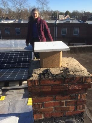 capped chimney - zero emissions!