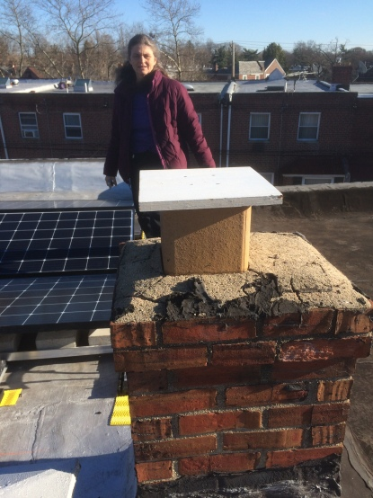 capped chimney - zero emissions!